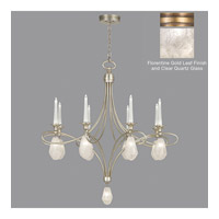 Fine Art Lamps Quartz and Iron 17 Light Chandelier in Florentine Gold Leaf 864440-21ST