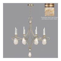 Fine Art Lamps Quartz and Iron 17 Light Chandelier in Florentine Gold Leaf 864440-22ST