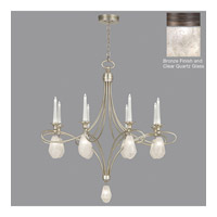 Fine Art Lamps Quartz and Iron 17 Light Chandelier in Bronze 864440-31ST
