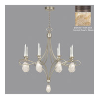 Fine Art Lamps Quartz and Iron 17 Light Chandelier in Bronze 864440-32ST