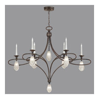 Fine Art Lamps Quartz and Iron 14 Light Chandelier in Bronze 864640-31ST