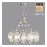 Fine Art Lamps Quartz and Iron 12 Light Pendant in Bronze 864840-32ST