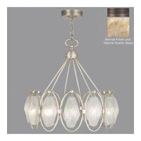Fine Art Lamps Quartz and Iron 12 Light Pendant in Bronze 864840-32ST