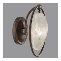 Quartz and Iron 1 Light 7 inch Bronze Wall Sconce Wall Light