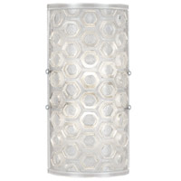 Hexagons 2 Light 7 inch Wall Sconce Wall Light