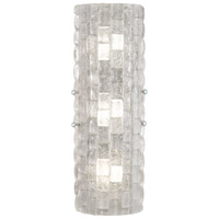 Fine Art Lamps 865450-21ST Constructivism LED 7 inch Silver Wall Sconce Wall Light