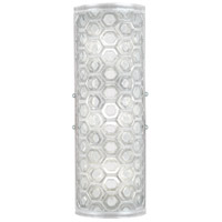 Fine Art Lamps 865450-22ST Hexagons LED LED 7 inch Silver ADA Sconce Wall Light
