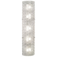 Fine Art Lamps 865650-21ST Constructivism LED 7 inch Silver Wall Sconce Wall Light