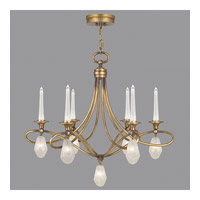 Fine Art Lamps Quartz and Iron 12 Light Chandelier in Florentine Gold Leaf 867240-21ST