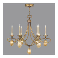Fine Art Lamps Quartz and Iron 12 Light Chandelier in Florentine Gold Leaf 867240-22ST