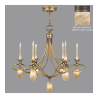 Fine Art Lamps Quartz and Iron 12 Light Chandelier in Bronze 867240-32ST