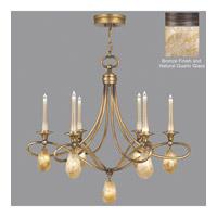Fine Art Lamps Quartz and Iron 12 Light Chandelier in Bronze 867240-32ST