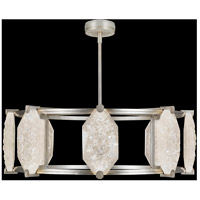 Allison Paladino LED 42 inch Silver Leaf Pendant Ceiling Light