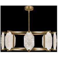 Fine Art Lamps 872840-21ST Allison Paladino LED 42 inch Gold Pendant Ceiling Light