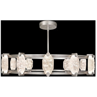 Fine Art Lamps 872940-1ST Allison Paladino LED 46 inch Silver Leaf Pendant Ceiling Light