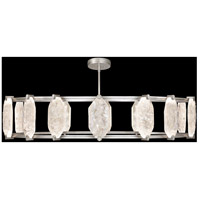 Allison Paladino LED 60 inch Silver Leaf Pendant Ceiling Light