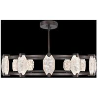 Fine Art Lamps 872940-3ST Allison Paladino LED 46 inch Bronze Pendant Ceiling Light