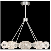Allison Paladino LED 32 inch Silver Leaf Pendant Ceiling Light
