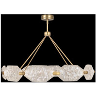 Allison Paladino LED 47 inch Gold Leaf Pendant Ceiling Light