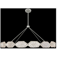 Allison Paladino LED 74 inch Silver Pendant Ceiling Light