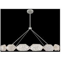 Fine Art Lamps 873140-11ST Allison Paladino LED 74 inch Silver Pendant Ceiling Light