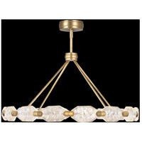 Fine Art Lamps 873140-2ST Allison Paladino LED 49 inch Gold Pendant Ceiling Light photo thumbnail