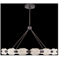 Allison Paladino LED 49 inch Bronze Leaf Pendant Ceiling Light