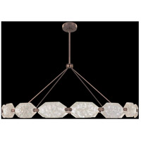 Fine Art Lamps 873140-31ST Allison Paladino LED 74 inch Bronze Pendant Ceiling Light