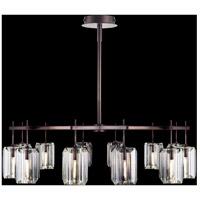 Fine Art Lamps 875140ST Monceau 12 Light 53 inch Bronze Chandelier Ceiling Light