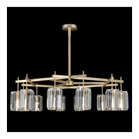 Monceau 12 Light 53 inch Gold Leaf Chandelier Ceiling Light