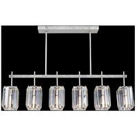 Fine Art Lamps 875240-1ST Monceau 6 Light 47 inch Silver Chandelier Ceiling Light