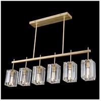 Fine Art Lamps 875240-2ST Monceau 6 Light 47 inch Gold Chandelier Ceiling Light