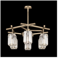 Fine Art Lamps 875340-2ST Monceau 6 Light 33 inch Gold Chandelier Ceiling Light