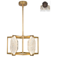 Fine Art Lamps Allison Paladino 8 Light Pendant in Bronze 875540-31ST