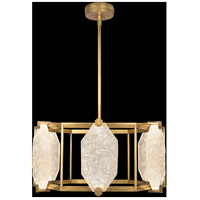 Fine Art Lamps 875640-21ST Allison Paladino LED 29 inch Gold Pendant Ceiling Light