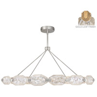 Allison Paladino LED 56 inch Gold Leaf Pendant Ceiling Light