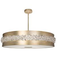 Fine Art Lamps 876240-1ST Arctic Halo 3 Light 42 inch Gold Chandelier Ceiling Light