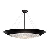 Fine Art Lamps 876440-2ST Arctic Halo 3 Light 32 inch Black Chandelier Ceiling Light