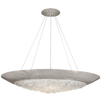 Fine Art Lamps 876540ST Arctic Halo 3 Light 44 inch Silver Pendant Ceiling Light