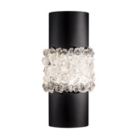 Fine Art Lamps 876650-2ST Arctic Halo 2 Light 7 inch Black Sconce Wall Light