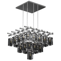 Monceau 40 Light 62 inch Silver Chandelier Ceiling Light