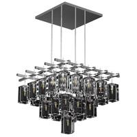 Fine Art Lamps 877240-1ST Monceau 40 Light 62 inch Gold Leaf Pendant Ceiling Light