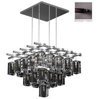 Fine Art Lamps 877240ST Monceau 40 Light 62 inch Silver Leaf Pendant Ceiling Light