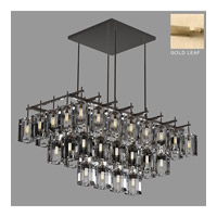 Monceau 40 Light 62 inch Gold Leaf Chandelier Ceiling Light