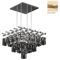 Fine Art Lamps 877540-2ST Monceau 25 Light 40 inch Gold Chandelier Ceiling Light