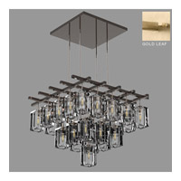 Monceau 25 Light 40 inch Gold Leaf Chandelier Ceiling Light