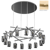 Fine Art Lamps 878340-2ST Monceau 16 Light 67 inch Gold Chandelier Ceiling Light