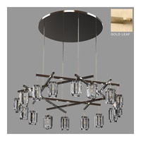 Monceau 16 Light 67 inch Gold Leaf Chandelier Ceiling Light