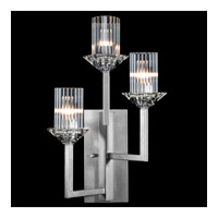Fine Art Lamps 878650-1ST Neuilly 3 Light 12 inch Silver Sconce Wall Light