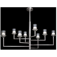 Fine Art Lamps 879040-1ST Neuilly 8 Light 48 inch Silver Chandelier Ceiling Light